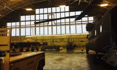Peoria Army Aviation Hangar - Johnco Construction
