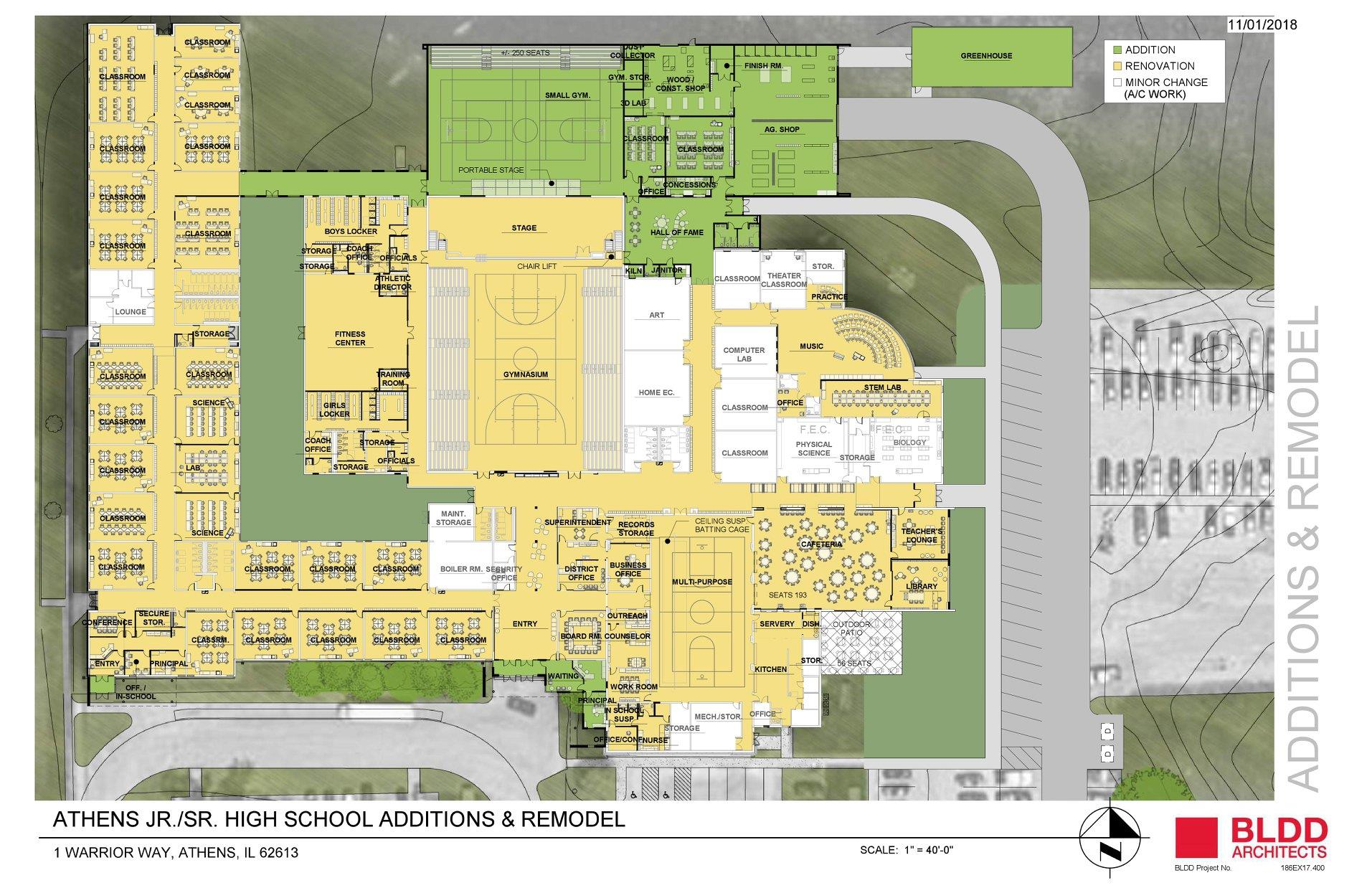 Athens CUSD 213 – Addition and Renovation